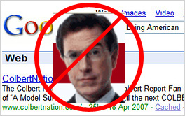 Colbert-Google