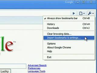 Chrome beállítások